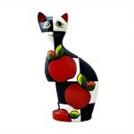 Статуэтка кот «Яблоко» (ХХL) туров арт