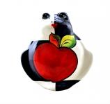 Фигурка лягушка «Яблоко» (M) туров арт