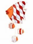 """Подвеска декоративная """"Рыбка Немо с непослушными детками"""""""