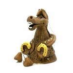 Колокольчик лошадь с подковами