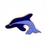 """Керамический магнит """"Дельфин"""" купить"""