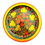 тарелка хохлома