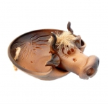 ваза-конфетница в форме коровки