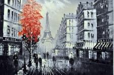 "Картина маслом ""Париж"" (30*40)"