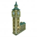 Керамический домик Биг-Бен и здание Парламента