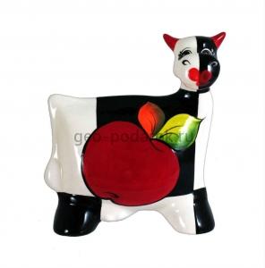фигурка корова яблоко туров арт