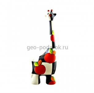 """Статуэтка жираф """"Яблоко"""" (L) туров арт"""