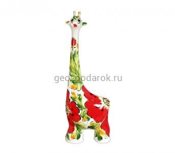 """Фигурка жираф """"Мак"""" (ХL) туров арт"""