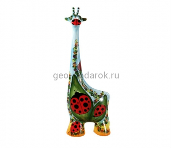 "Статуэтка жираф ""Божья коровка"" (L) туров арт"