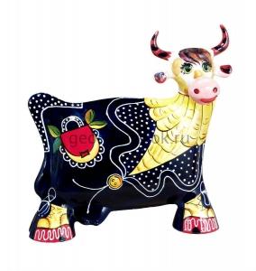 керамическая коровка