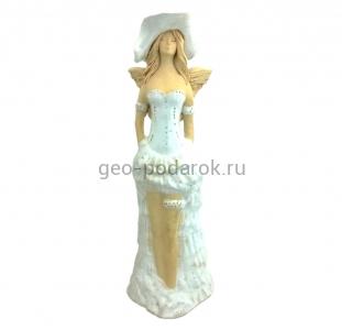 Фигурка ангела в свадебном платье