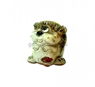 Статуэтка ёж с грибом