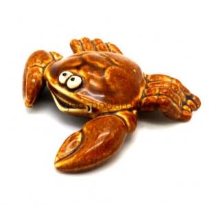 керамическая фигурка краб