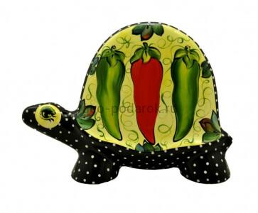 """Статуэтка черепаха """"Три перца"""" (L) фото"""