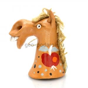 подарок конь колокольчик