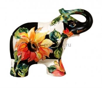 "Фигурка слон ""Подсолнух на клетке"" (M) туров арт фото"