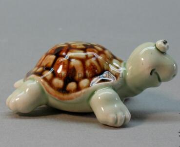 керамическая фигурка черепашка