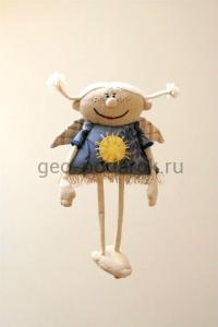 """Интерьерная игрушка """"Солнечный ангел"""""""