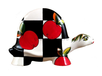 "Фигурки черепахи ""Яблоко"" (ХL) фото"