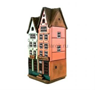 "домик-подсвечник ""Hotel Stapelhauschen"""
