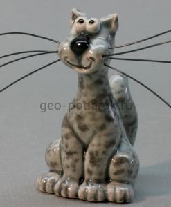 керамическая фигурка кот