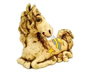 """Фигурка """"Лошадь"""" (шамот)"""