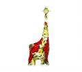 "Фигурка жираф ""Мак"" (ХL) фото"