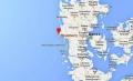 Маяк-подсвечник Блавандшук на карте расположение