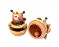 керамический колокольчик пчелка