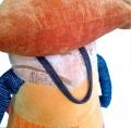 интерьерная игрушка лиса