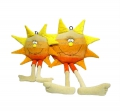купить позитивную мягкую игрушку солнышко для интерьера