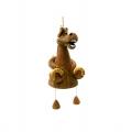 купить керамический колокольчик лошадь с подковами