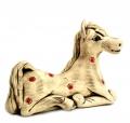 авторская статуэтка Белый конь