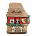 домик-подсвечник в бретонском стиле