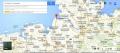 маяк-подсвечник Куксхафен на карте