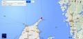 маяк-подсвечник Скаген на карте
