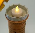 керамический  маяк-подсвечник Скаген