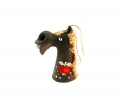 купить керамический колокольчик лошадку