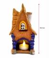 керамический сувенирный домик фонарь